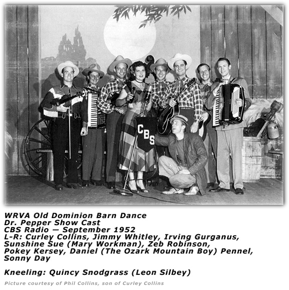 Old Dominion Barn Dance - 1952 - Dr. Pepper Show Cast