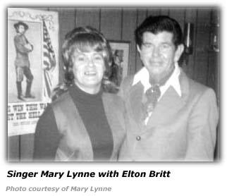 Elton Britt with Mary Lynne