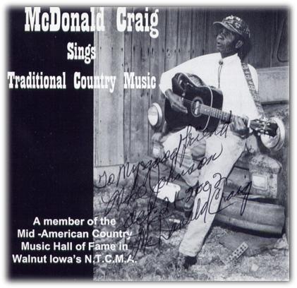 Hillbilly-Music com - McDonald Craig