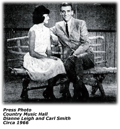 Country Music Hall - Dianne Leigh and Carl Smith - 1966