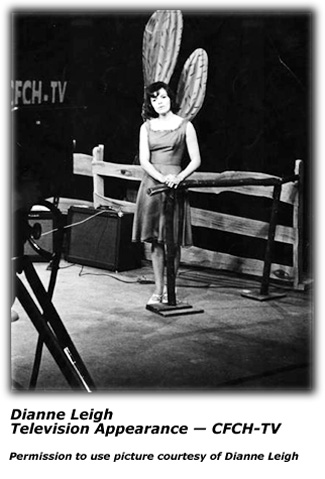 Dianne Leigh - TV Performance CFCH-TV