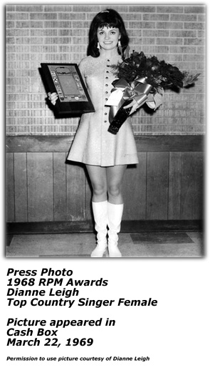 Dianne Leigh - Press Photo - 1969
