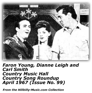 Faron Young, Dianne Leigh and Carl Smith - Country Music Hall