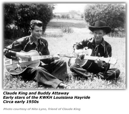 Claude King and Buddy Attaway