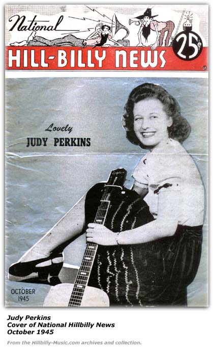 Judy Perkins - National Hillbilly News - 1945