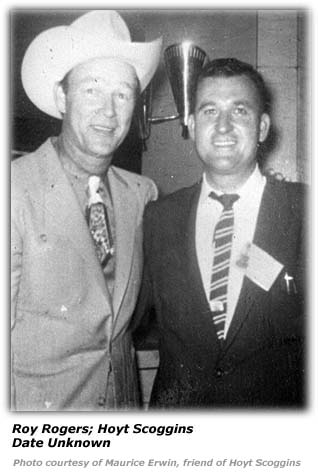 Hoyt Scoggins and Roy Rogers