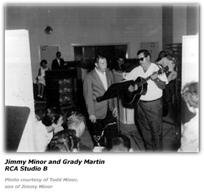 Jimmy Minor RCA Studio B with Grady Martin