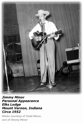 Jimmy Minor - Circa 1952