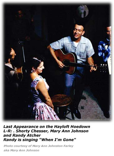 Mary Ann Johnson - Last Hayloft Hoedown Show