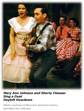 Mary Ann Johnson - Hayloft Hoedown