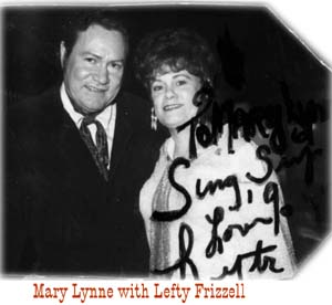 Mary Lynne with Lefty Frizzell