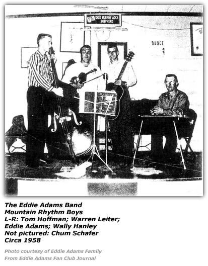 Eddie Adams and Mountain Rhythm Boys