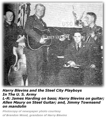 Harry Blevins and the Steel City Playboys