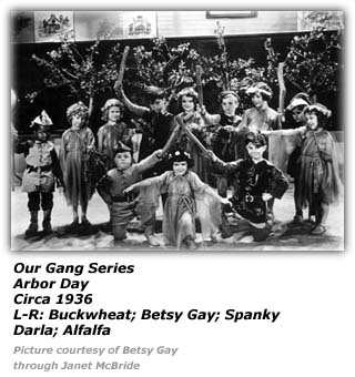 Our Gang - Arbor Day - Betsy Gay