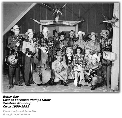 Betsy Gay - Foreman Phillips Western Roundup 1950