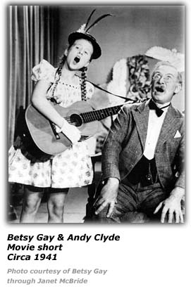 Betsy Gay - Andy Clyde - 1941