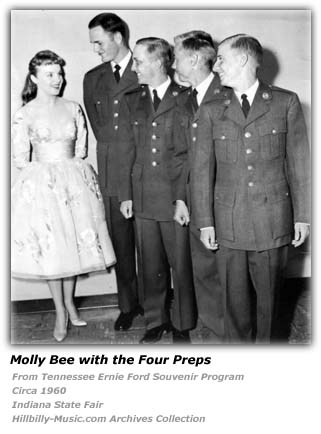 Molly Bee and the Four Preps