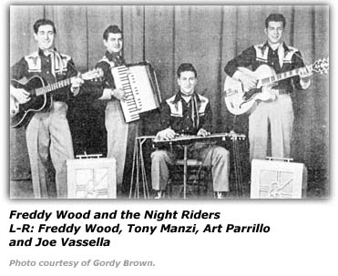 Freddy Wood and the Night Riders