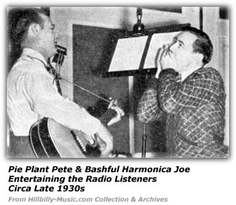 Pie Plant Pete and Bashful Harmonica Joe