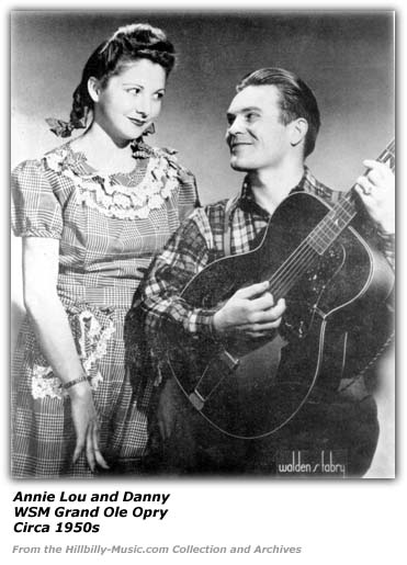 Annie Lou and Danny - Grand Ole Opry