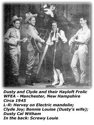 Dusty Cal and Clyde Joy Hayloft Frolic