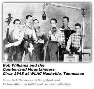 Bob Williams and the Cumberland Mountaineers