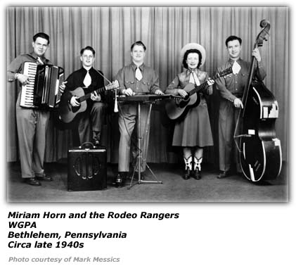 Miriam Horn and the Rodeo Rangers at WGPA
