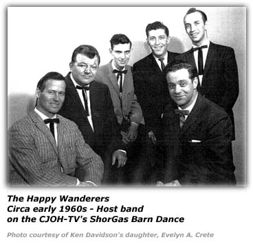 Ken Davidson - with The Happy Wanderers