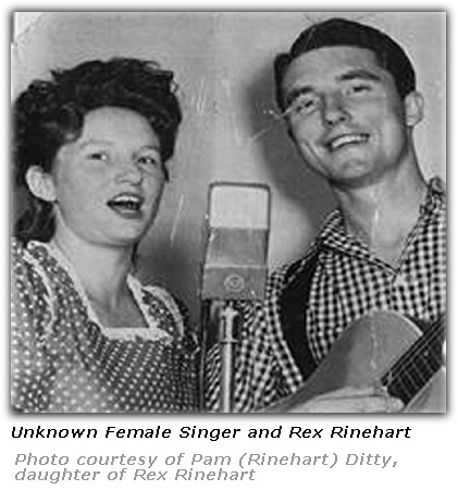 Rex Rinehart and Jean- Publicity Photo