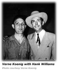 Verne Koenig and Hank Williams