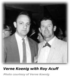 Verne Koenig and Roy Acuff