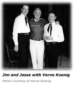 Verne Koenig with Jim and Jesse