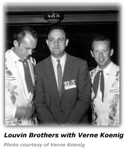Verne Koenig and Louvin Brothers